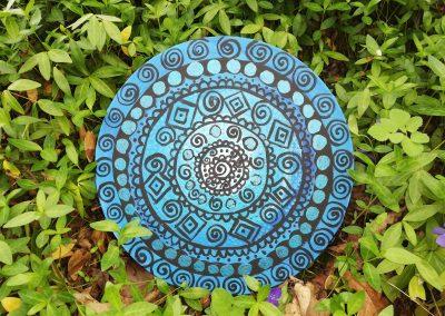 Indigo blue shaman