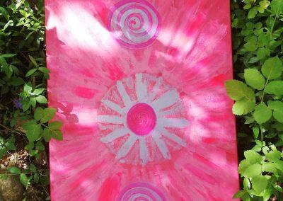 Indigo pink joy
