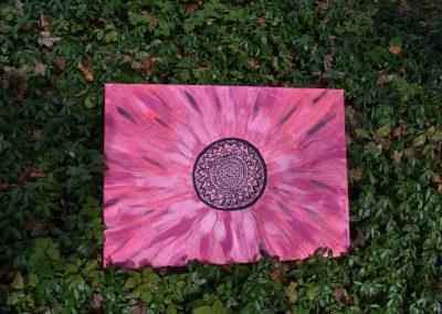 Indigo pink shamanic